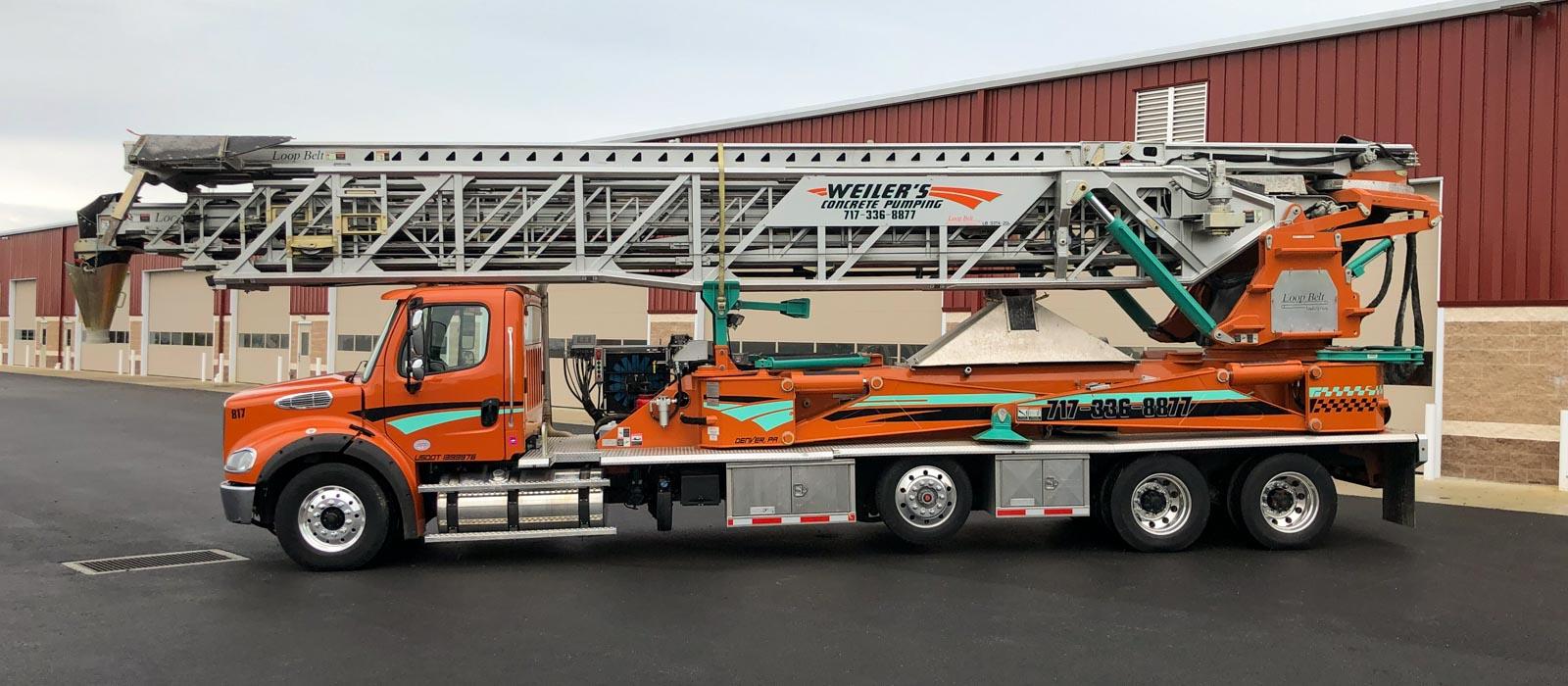 110 Telebelt Truck
