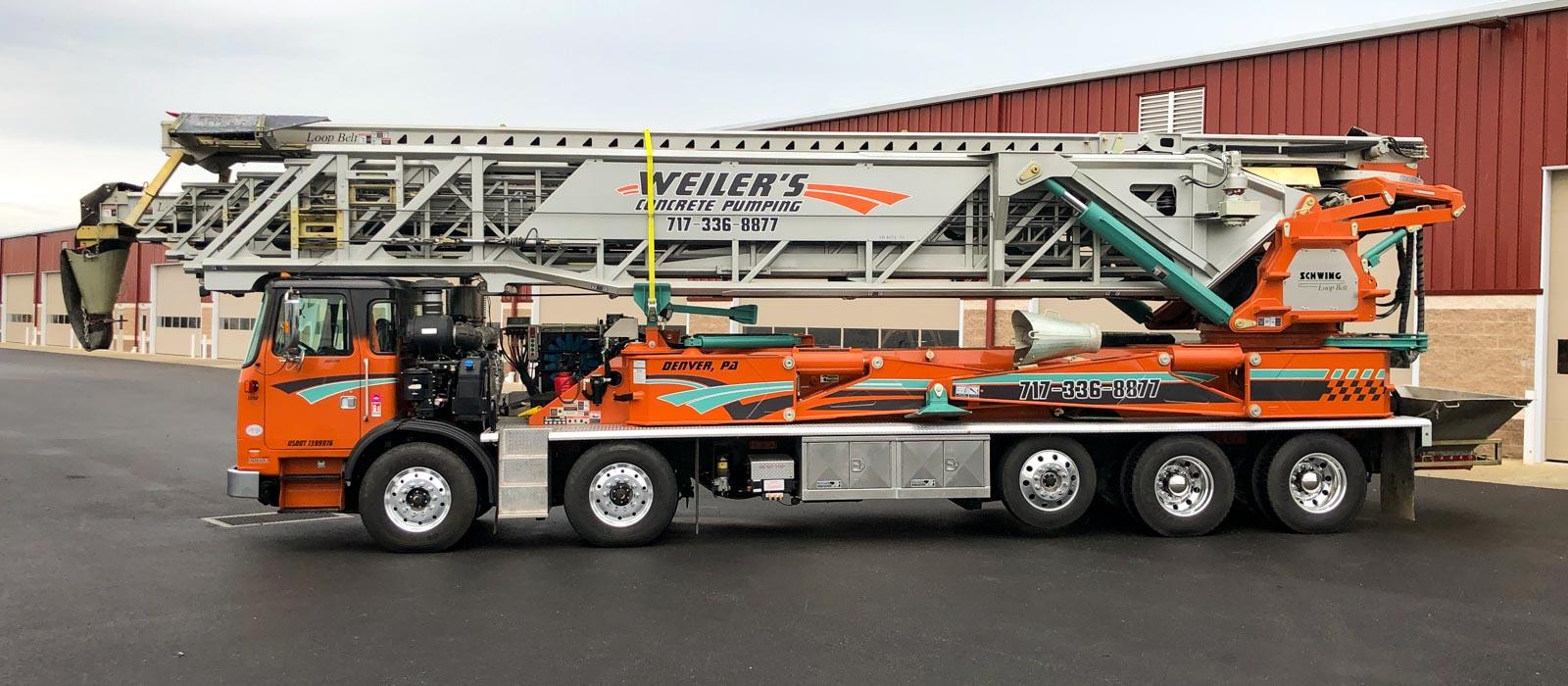 130 Telebelt Truck