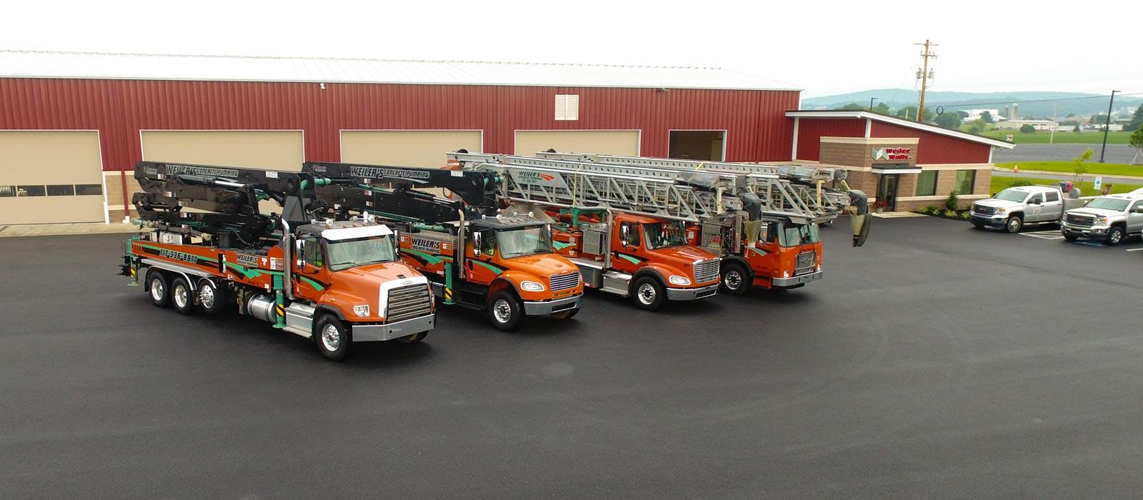 Telebelt and Concrete Pump Trucks